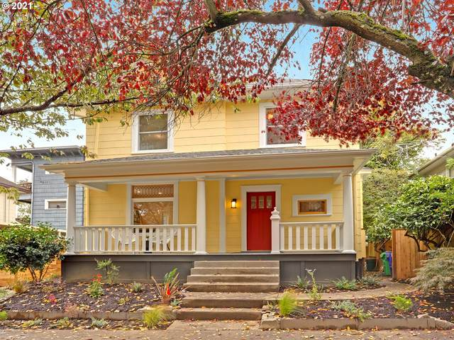 1223 SE 15TH Ave, Portland, OR 97214 (MLS #21178203) :: Song Real Estate