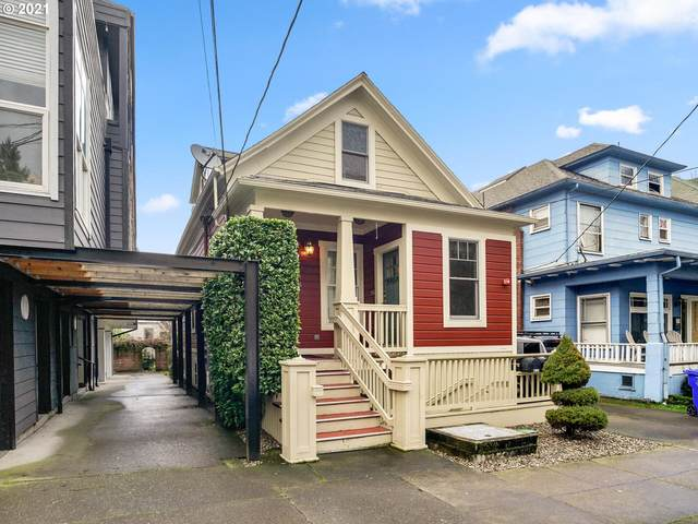 2163 NW Everett St, Portland, OR 97210 (MLS #21178497) :: The Pacific Group