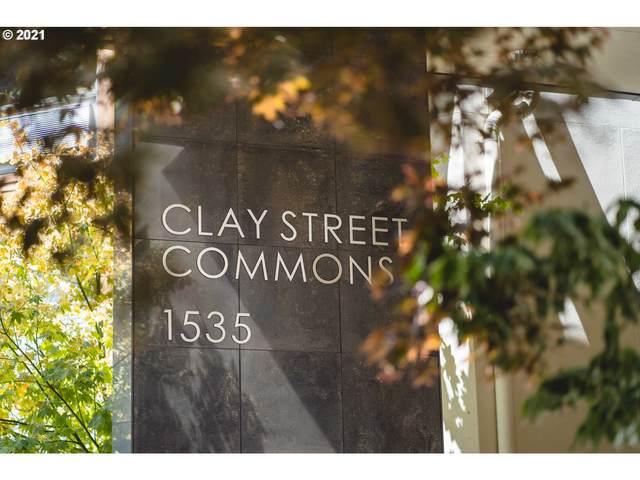 1535 SW Clay St #104, Portland, OR 97201 (MLS #21178753) :: Beach Loop Realty
