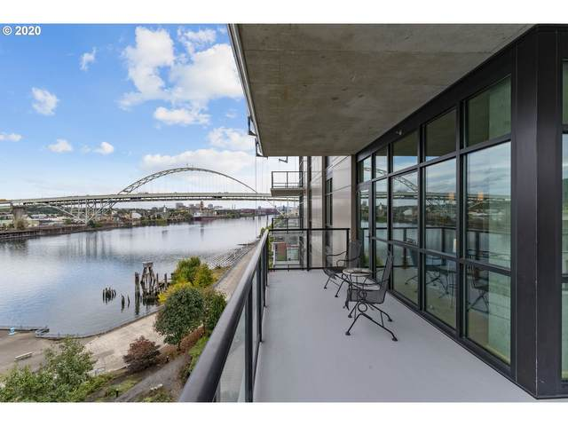 1830 NW Riverscape St #704, Portland, OR 97209 (MLS #21180855) :: The Pacific Group