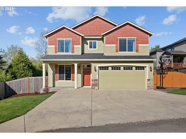 13925 SE Mountain View Ln, Clackamas, OR 97015 (MLS #21184607) :: Premiere Property Group LLC