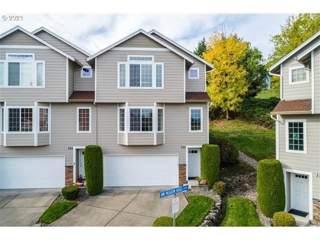 759 NW Meadow Ridge Ln #14, Camas, WA 98607 (MLS #21195273) :: Real Estate by Wesley