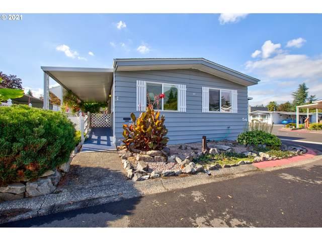 13640 SE Highway 212 #54, Clackamas, OR 97015 (MLS #21195442) :: Townsend Jarvis Group Real Estate