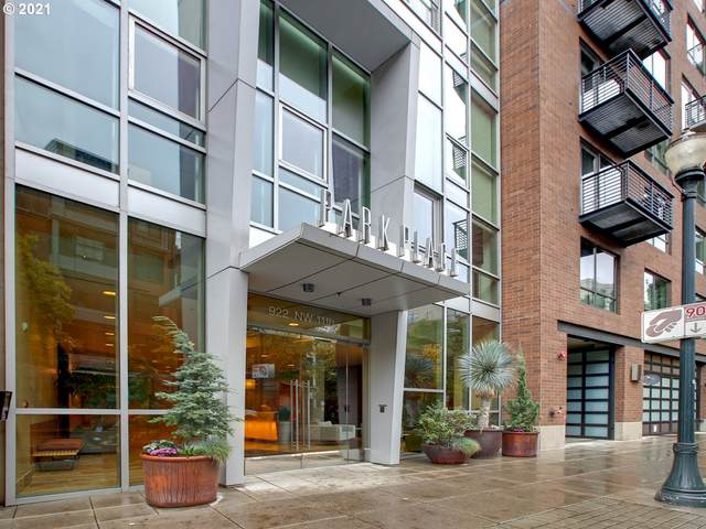 922 NW 11TH Ave #704, Portland, OR 97209 (MLS #21204246) :: The Pacific Group