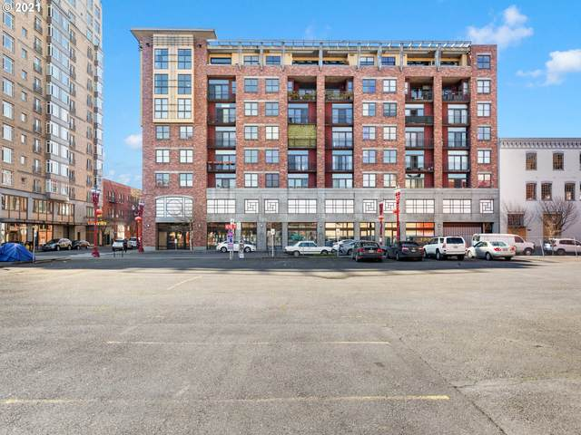 411 NW Flanders St #805, Portland, OR 97209 (MLS #21221891) :: Holdhusen Real Estate Group