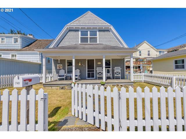 740 Beach Dr, Seaside, OR 97138 (MLS #21222160) :: The Pacific Group