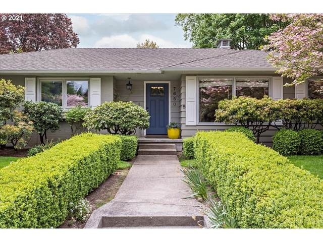 7660 SW Brentwood St, Portland, OR 97225 (MLS #21224665) :: The Liu Group