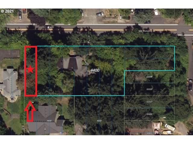 4400 SW Pomona St Lot11, Portland, OR 97219 (MLS #21225602) :: Gustavo Group