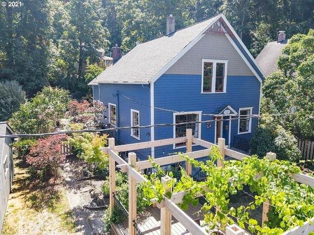 120 Jefferson St, Oregon City, OR 97045 (MLS #21231147) :: Stellar Realty Northwest