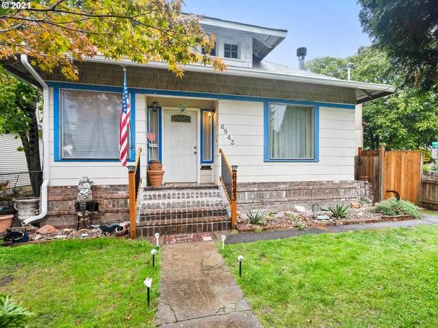 6843 SE Woodstock Blvd, Portland, OR 97206 (MLS #21234288) :: The Haas Real Estate Team