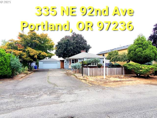 335 NE 92ND Ave, Portland, OR 97220 (MLS #21242664) :: Fox Real Estate Group
