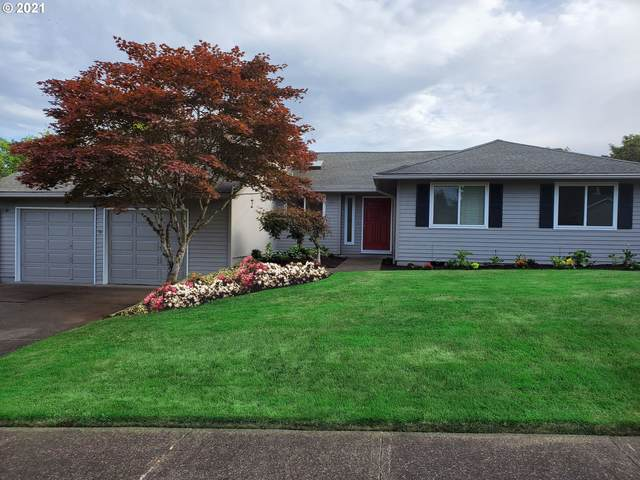 4437 NW Metolius Ct, Portland, OR 97229 (MLS #21249184) :: The Pacific Group