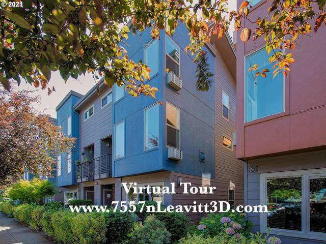 7557 N Leavitt Ave, Portland, OR 97203 (MLS #21254231) :: Next Home Realty Connection