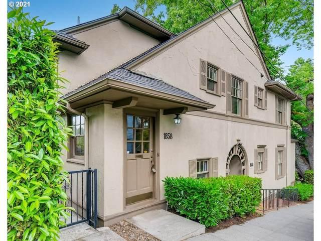 1858 SW High St, Portland, OR 97201 (MLS #21254350) :: Lux Properties