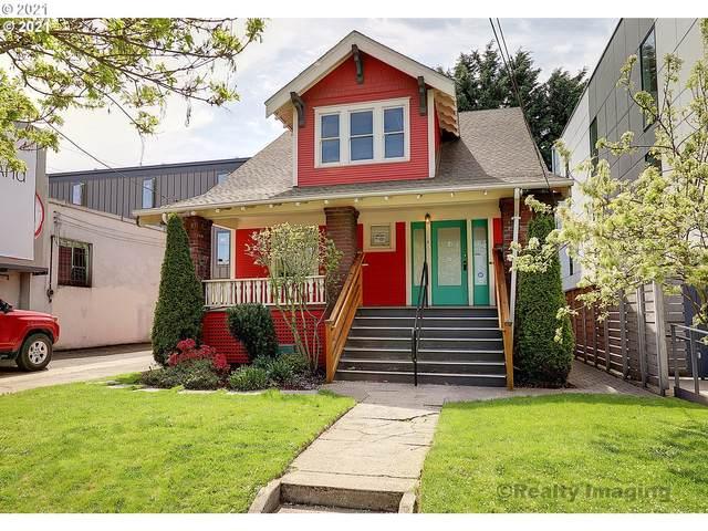 4016 SE Division St, Portland, OR 97202 (MLS #21259275) :: Holdhusen Real Estate Group