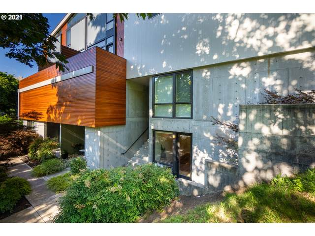 245 SW Meade St G3, Portland, OR 97201 (MLS #21259966) :: Real Tour Property Group