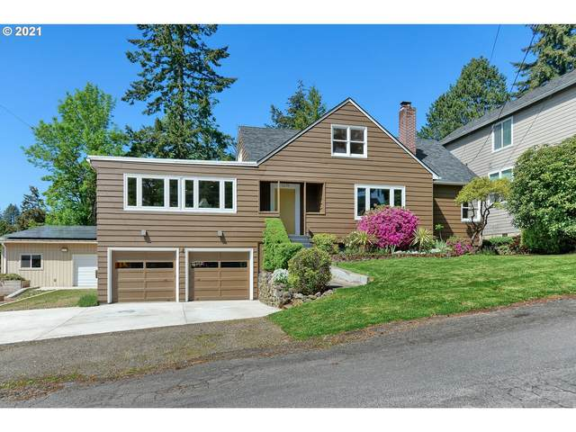 1319 SW Hume Ct, Portland, OR 97219 (MLS #21260517) :: The Liu Group
