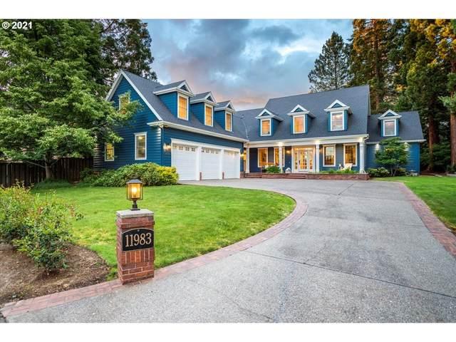 11983 SW Lynnfield Ln, Portland, OR 97225 (MLS #21271596) :: Holdhusen Real Estate Group