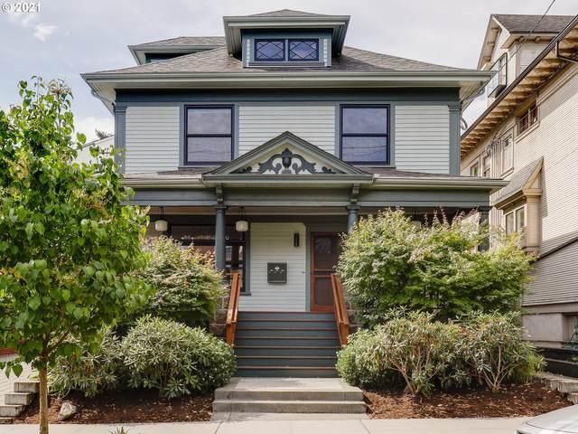 2052 NW Kearney St, Portland, OR 97209 (MLS #21276922) :: Lux Properties