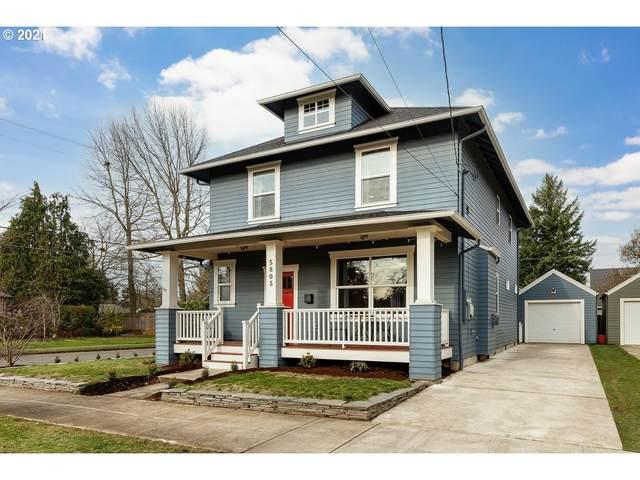 5805 SE Liebe St, Portland, OR 97206 (MLS #21276987) :: The Liu Group