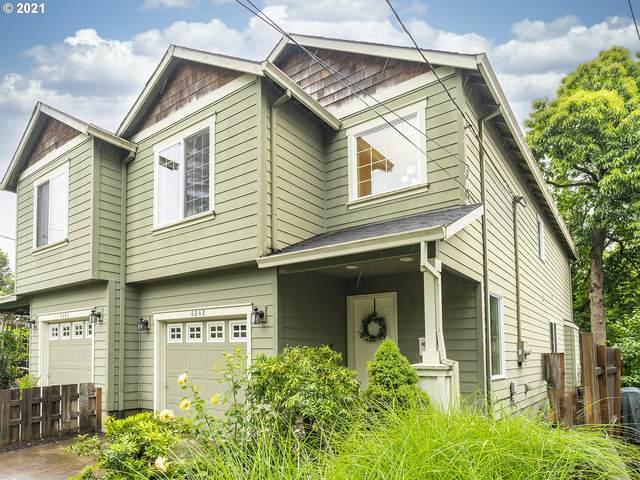 4042 SE Boise St, Portland, OR 97202 (MLS #21292867) :: McKillion Real Estate Group
