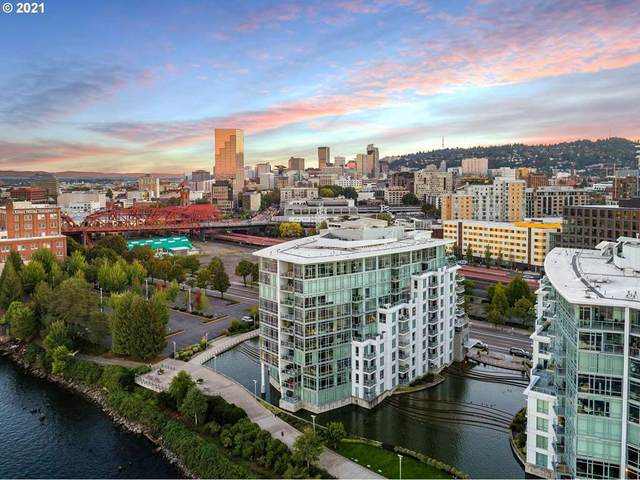 1260 NW Naito Pkwy NW #605, Portland, OR 97209 (MLS #21295103) :: The Liu Group