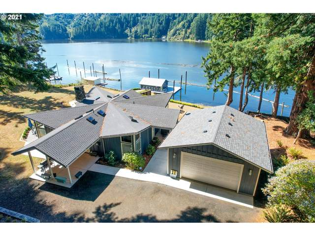 4153 S Ten Mile Lake, Lakeside, OR 97449 (MLS #21306290) :: Townsend Jarvis Group Real Estate