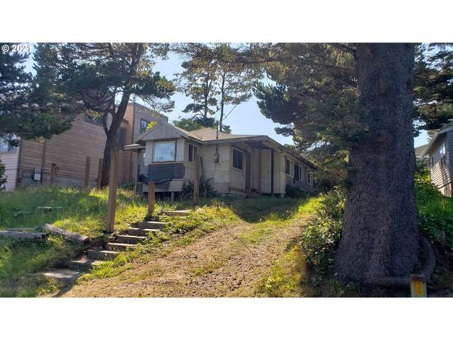 435 NW Yaquina Ave, Depoe Bay, OR 97341 (MLS #21331878) :: Beach Loop Realty