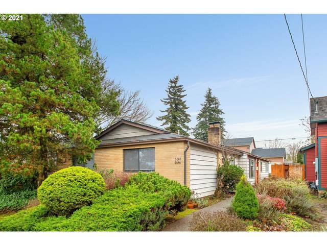 6644 SE Woodstock Blvd, Portland, OR 97206 (MLS #21333586) :: Next Home Realty Connection