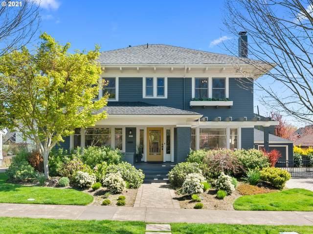 3855 NE Alameda St, Portland, OR 97212 (MLS #21343859) :: Townsend Jarvis Group Real Estate