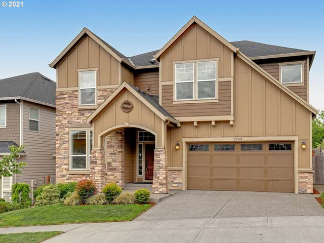 2563 NW 108TH Ter, Portland, OR 97229 (MLS #21355645) :: Townsend Jarvis Group Real Estate