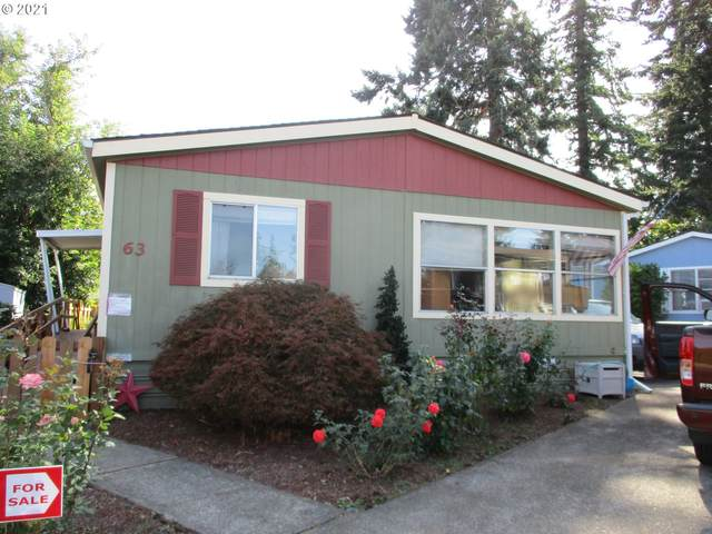 1400 S Elm St #63, Canby, OR 97013 (MLS #21362753) :: Real Tour Property Group