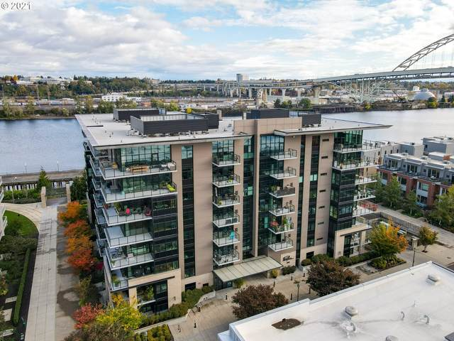 1830 NW Riverscape St #502, Portland, OR 97209 (MLS #21379853) :: Holdhusen Real Estate Group
