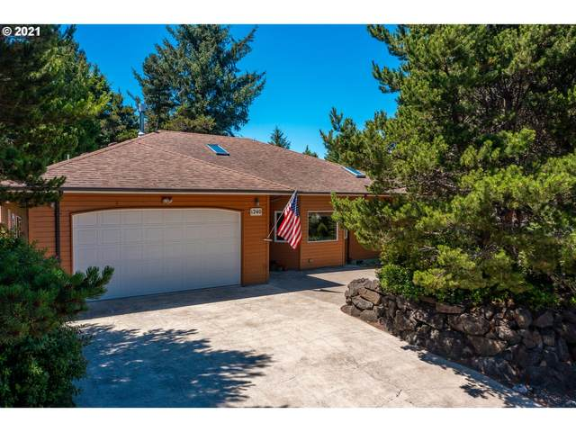 1240 SW Chad Dr, Waldport, OR 97394 (MLS #21392108) :: Beach Loop Realty