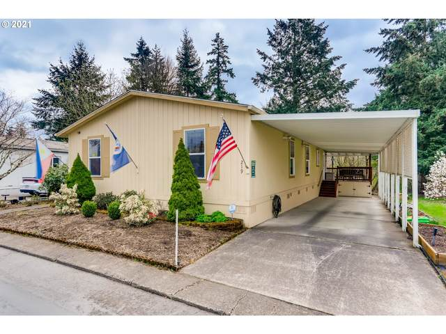 12450 SW Fischer Rd #219, Tigard, OR 97224 (MLS #21393321) :: Fox Real Estate Group