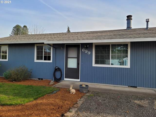 699 NW Connell Ave, Hillsboro, OR 97124 (MLS #21395199) :: Holdhusen Real Estate Group