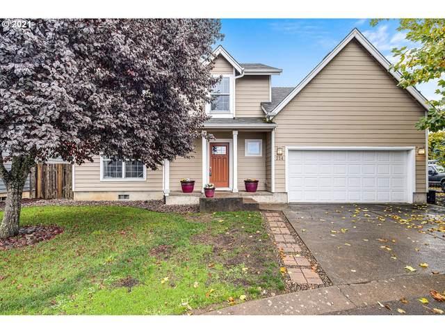 214 NW Sagan Loop, Sheridan, OR 97378 (MLS #21408136) :: Holdhusen Real Estate Group