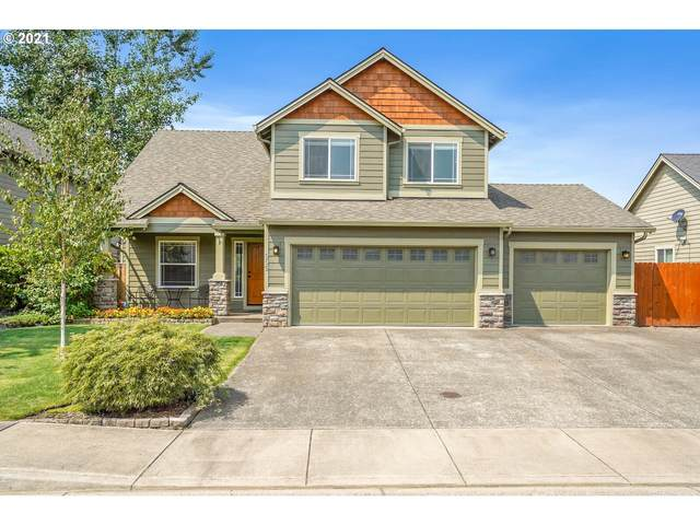 555 Grizzly St, Aumsville, OR 97325 (MLS #21415488) :: Premiere Property Group LLC