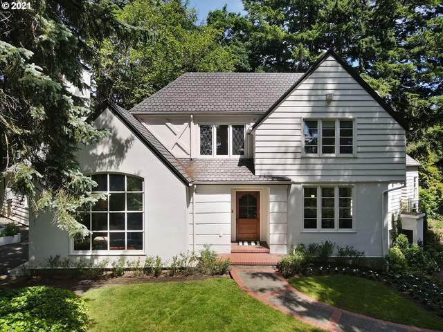 3291 SW Fairmount Blvd, Portland, OR 97239 (MLS #21421861) :: Premiere Property Group LLC