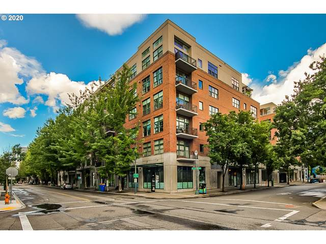 820 NW 12TH Ave #406, Portland, OR 97209 (MLS #21424422) :: The Liu Group