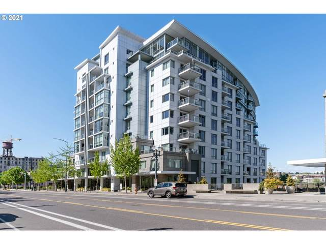1310 NW Naito Pkwy #706, Portland, OR 97209 (MLS #21426191) :: The Haas Real Estate Team