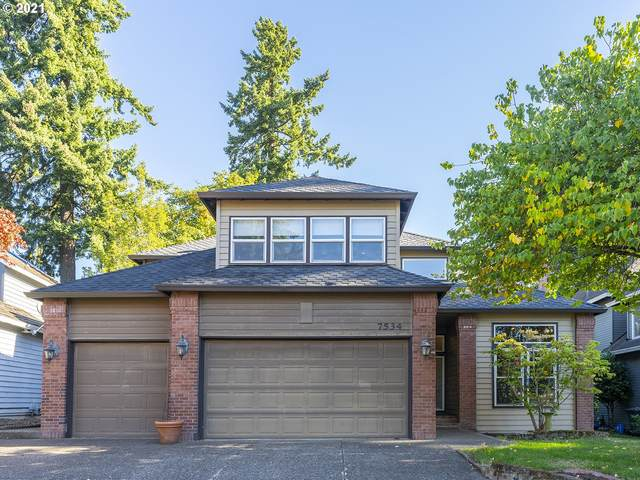 7534 SW Ashford St, Tigard, OR 97224 (MLS #21436866) :: Real Estate by Wesley