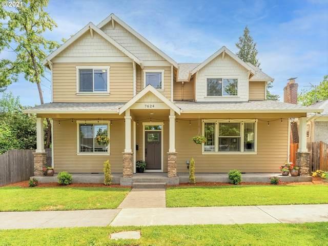 7624 N Omaha Ave, Portland, OR 97217 (MLS #21446018) :: Premiere Property Group LLC