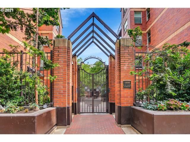 1500 SW Park Ave #404, Portland, OR 97201 (MLS #21455494) :: Duncan Real Estate Group