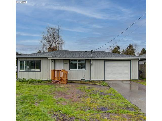2205 42ND Ave, Longview, WA 98632 (MLS #21466577) :: The Pacific Group