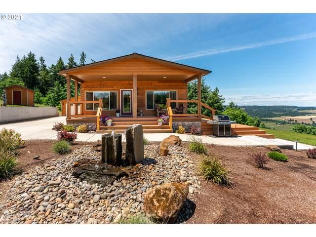 33633 NE Old Parrett Mountain Rd, Newberg, OR 97132 (MLS #21477358) :: Cano Real Estate