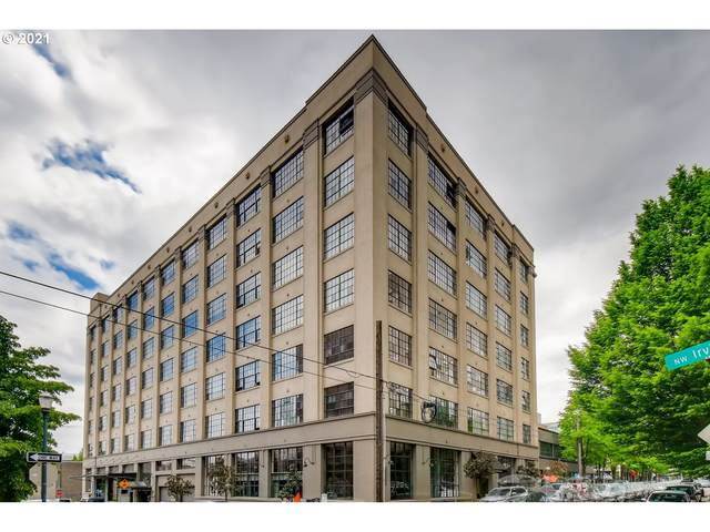 1314 NW Irving St #705, Portland, OR 97209 (MLS #21481716) :: Holdhusen Real Estate Group