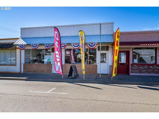 120 Main St, Riddle, OR 97469 (MLS #21487253) :: Premiere Property Group LLC