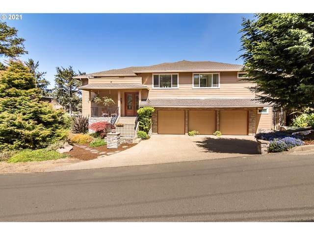 35 SW South Point St, Depoe Bay, OR 97341 (MLS #21487904) :: Song Real Estate