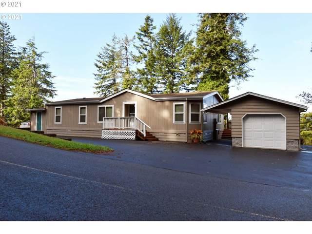 250 Hilltop Dr, Lakeside, OR 97449 (MLS #21489421) :: Premiere Property Group LLC